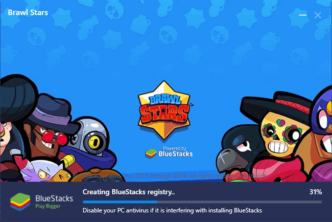 instalando brawl stars pc