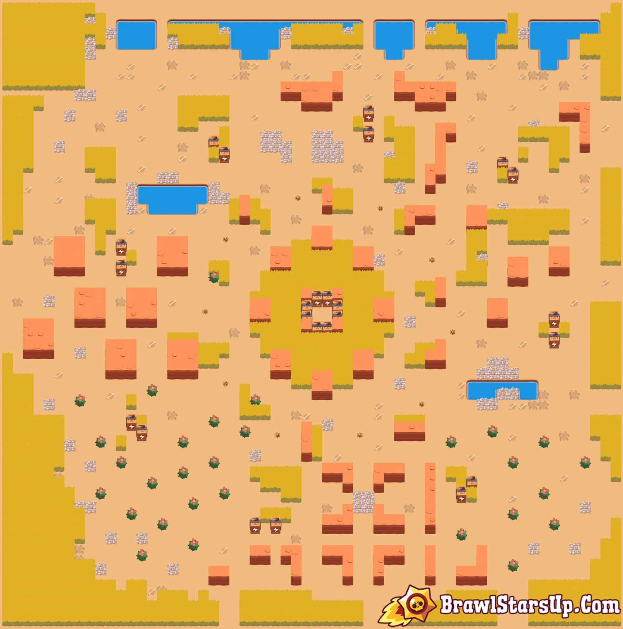 brawl stars map feast or farmine