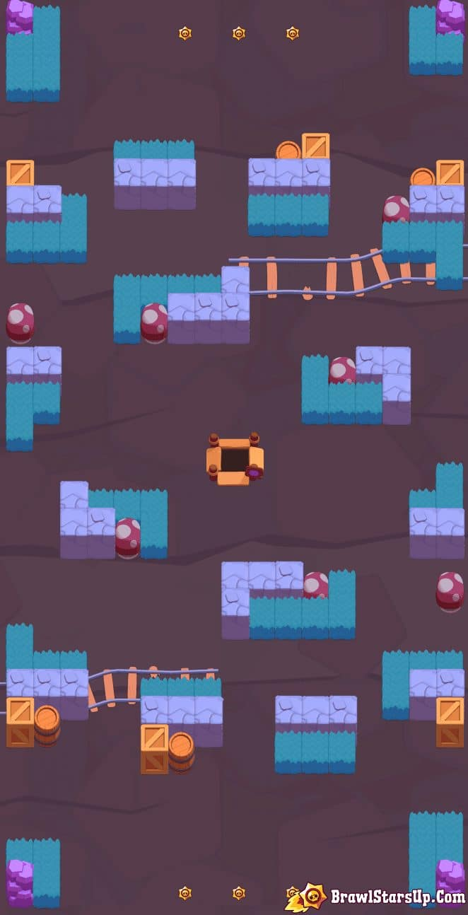 brawl stars game modes maps and spawn points