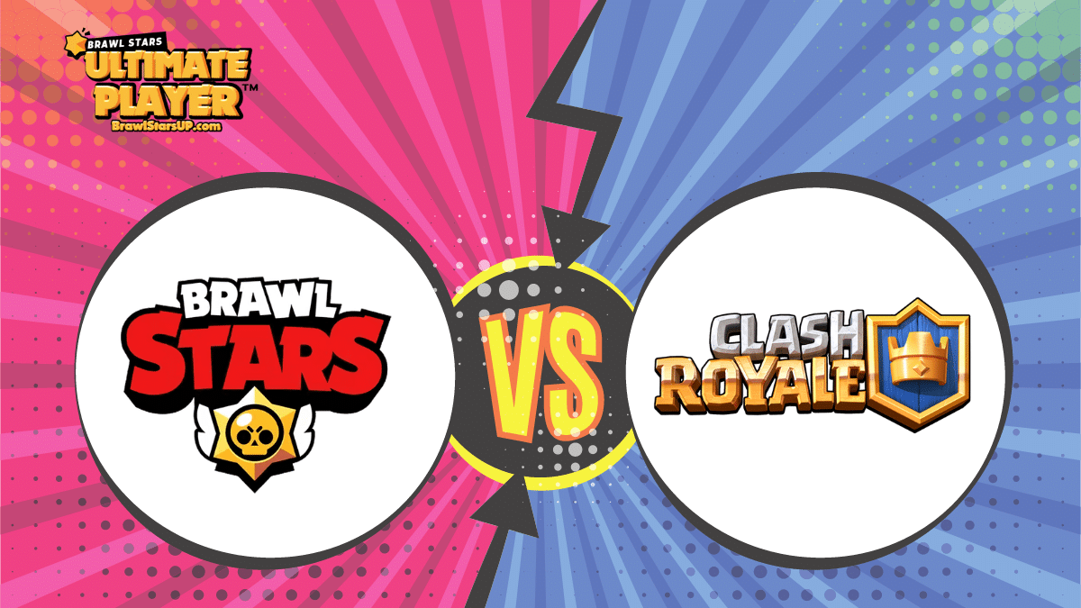 Brawl Stars vs Clash Royale - Which is Better?
