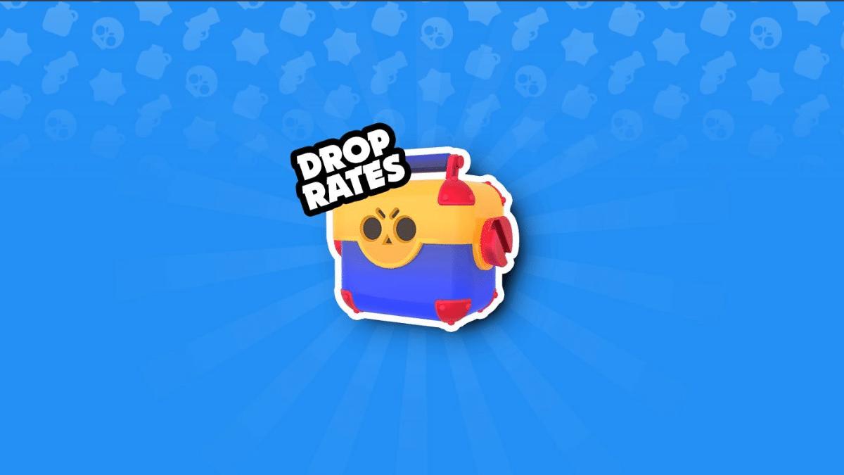 brawl stars brawler drop rate from brawl box