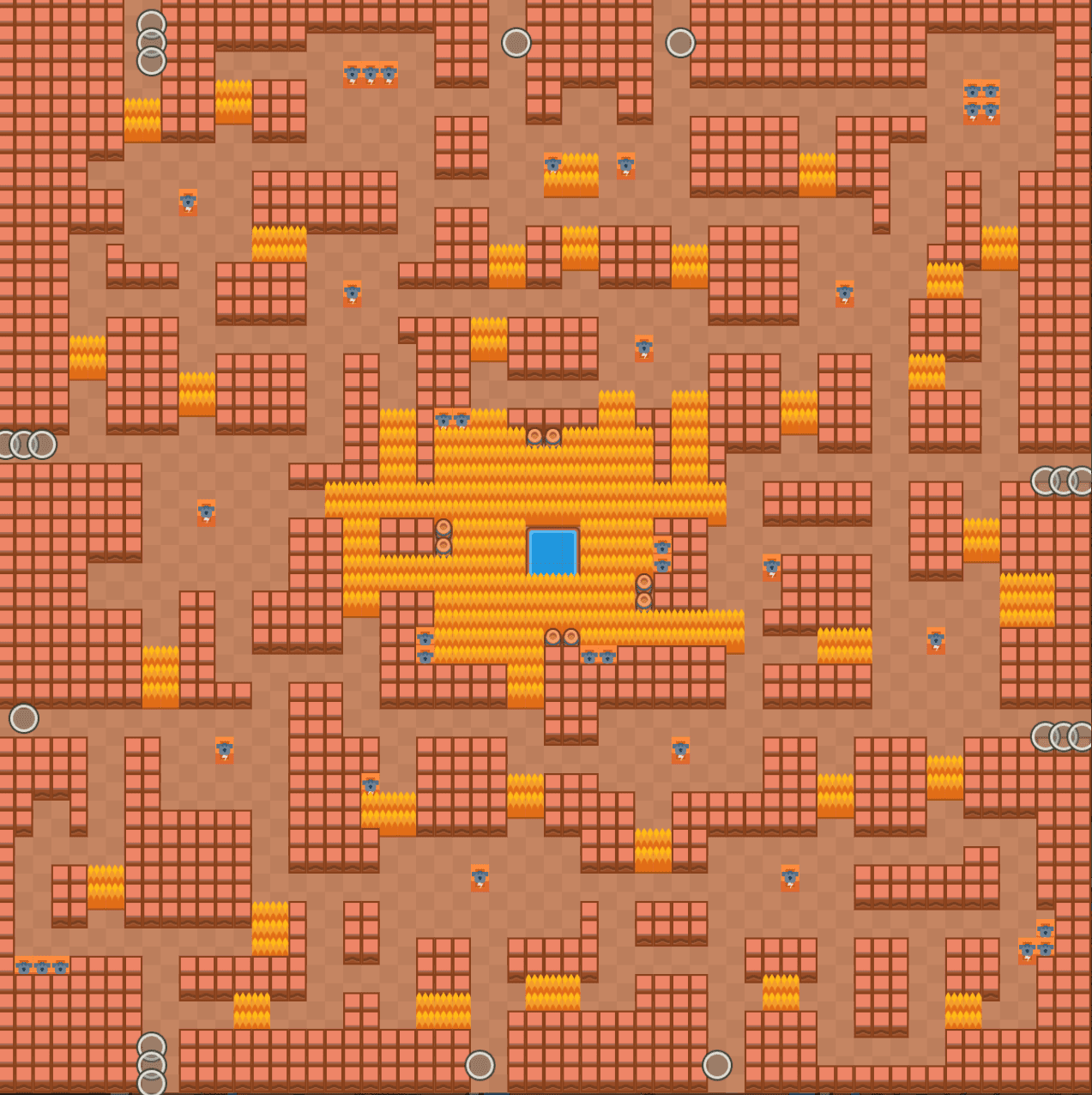 Cavern Churn Showdown Map Brawl Stars Up!