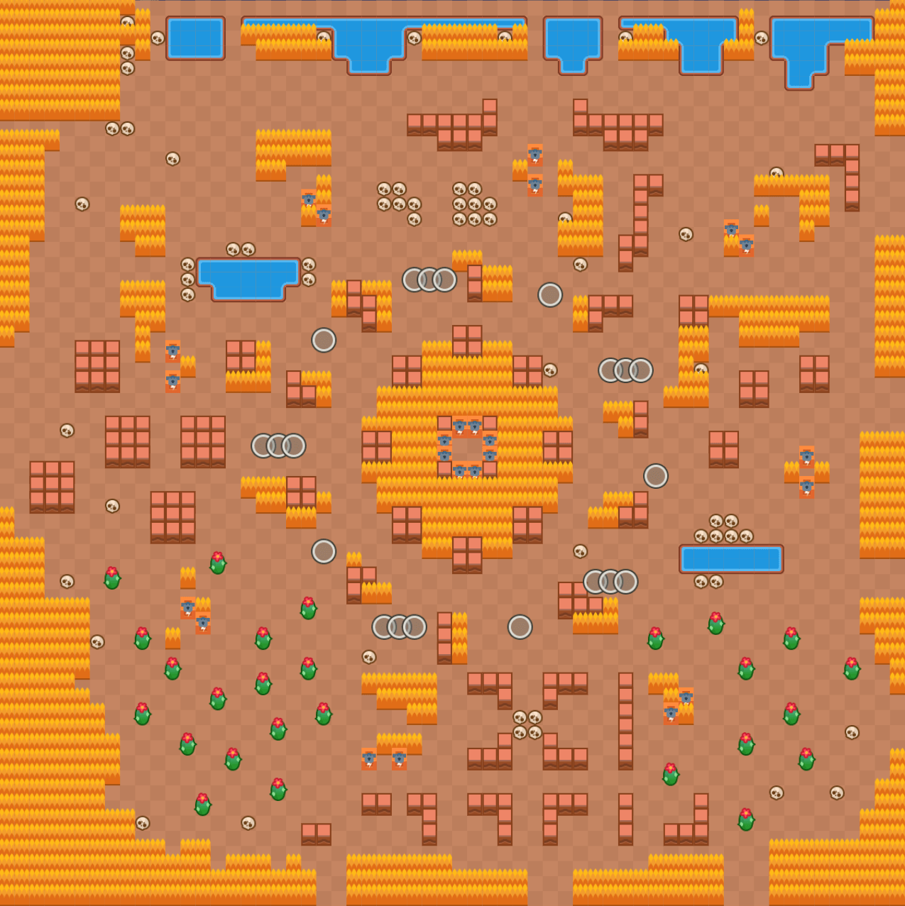 feast or famine map brawl stars