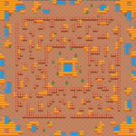 hot maze map