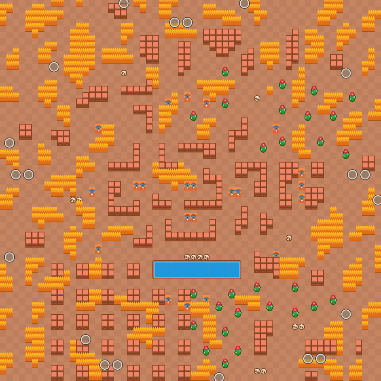 Skull Creek - Showdown Map Brawl Stars Up!
