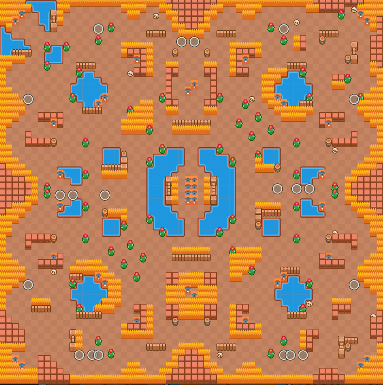 thousand lakes map