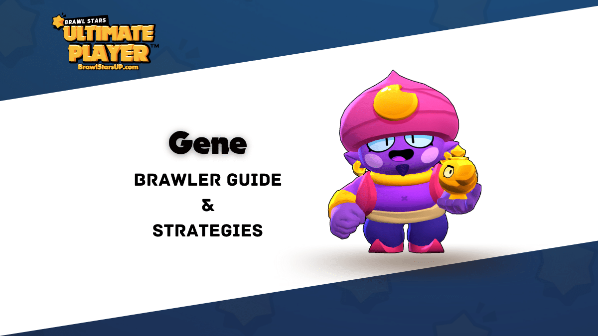 20+ Tips To Play With/Against Gene | Brawl Stars UP!