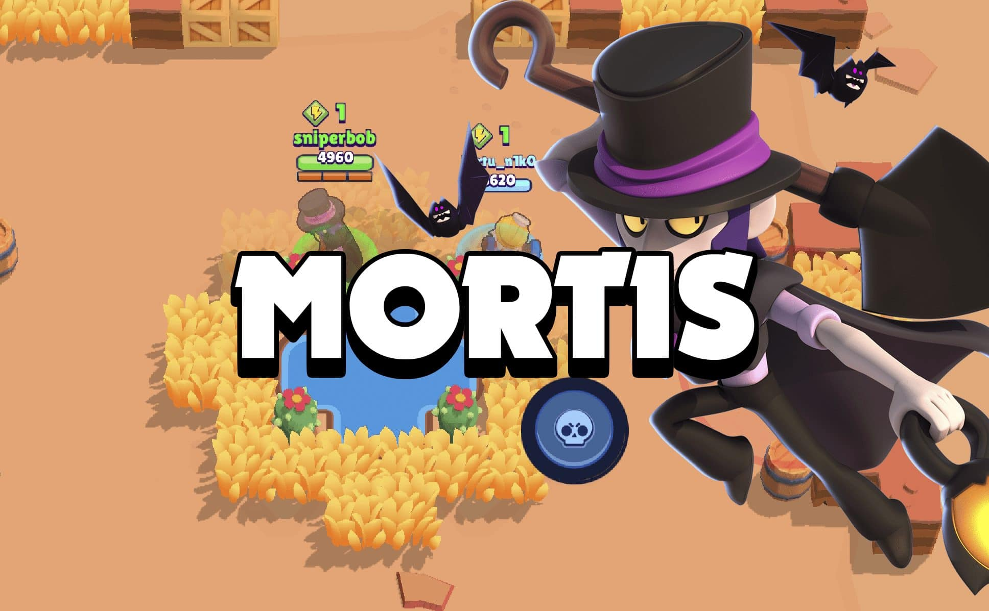 Instant Guide to Pushing with Mortis in Showdown Brawl Stars UP!