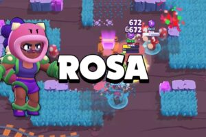 Rosa - The New Brawl Stars Brawlers [Quick Look]