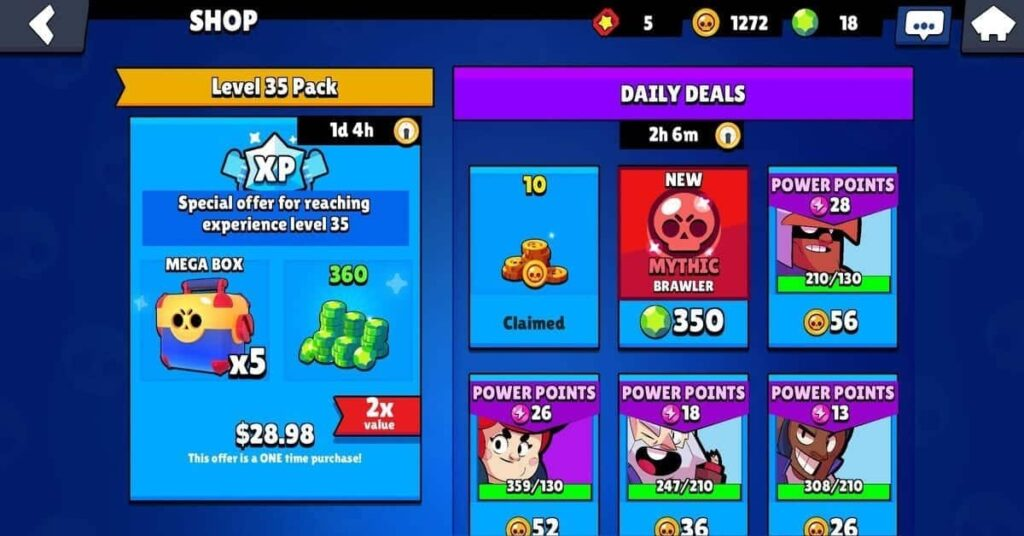 level 35 special offer