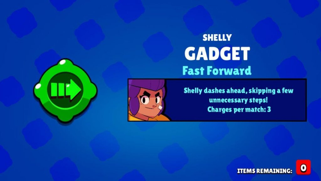 Shelly Gadgets and Best Build Brawl Stars UP!
