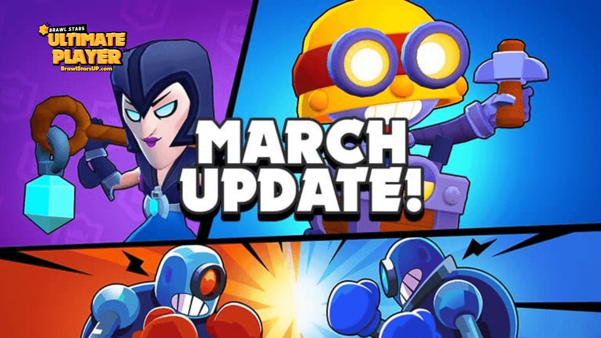 brawl stars march update